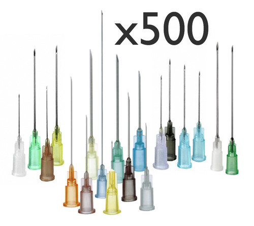 500 Needles Mixed Set