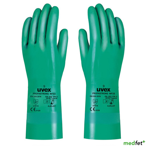 Heavy Duty Nitrile Gauntlets