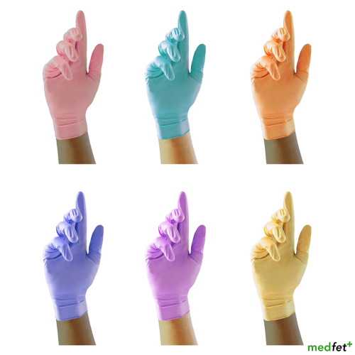 Nitrile Gloves (Special Colours)