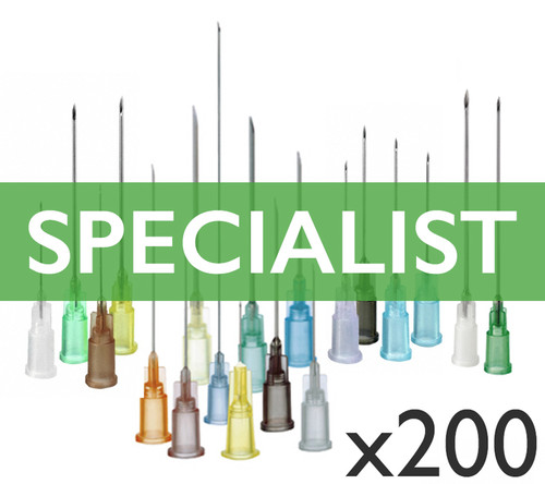 200 Needles Mixed Set: Specialist Range