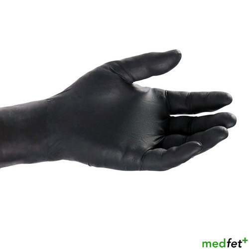Latex Exam Gloves - Black