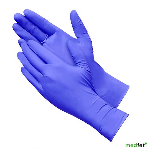 Nitrile Exam Gloves - Long Cuff