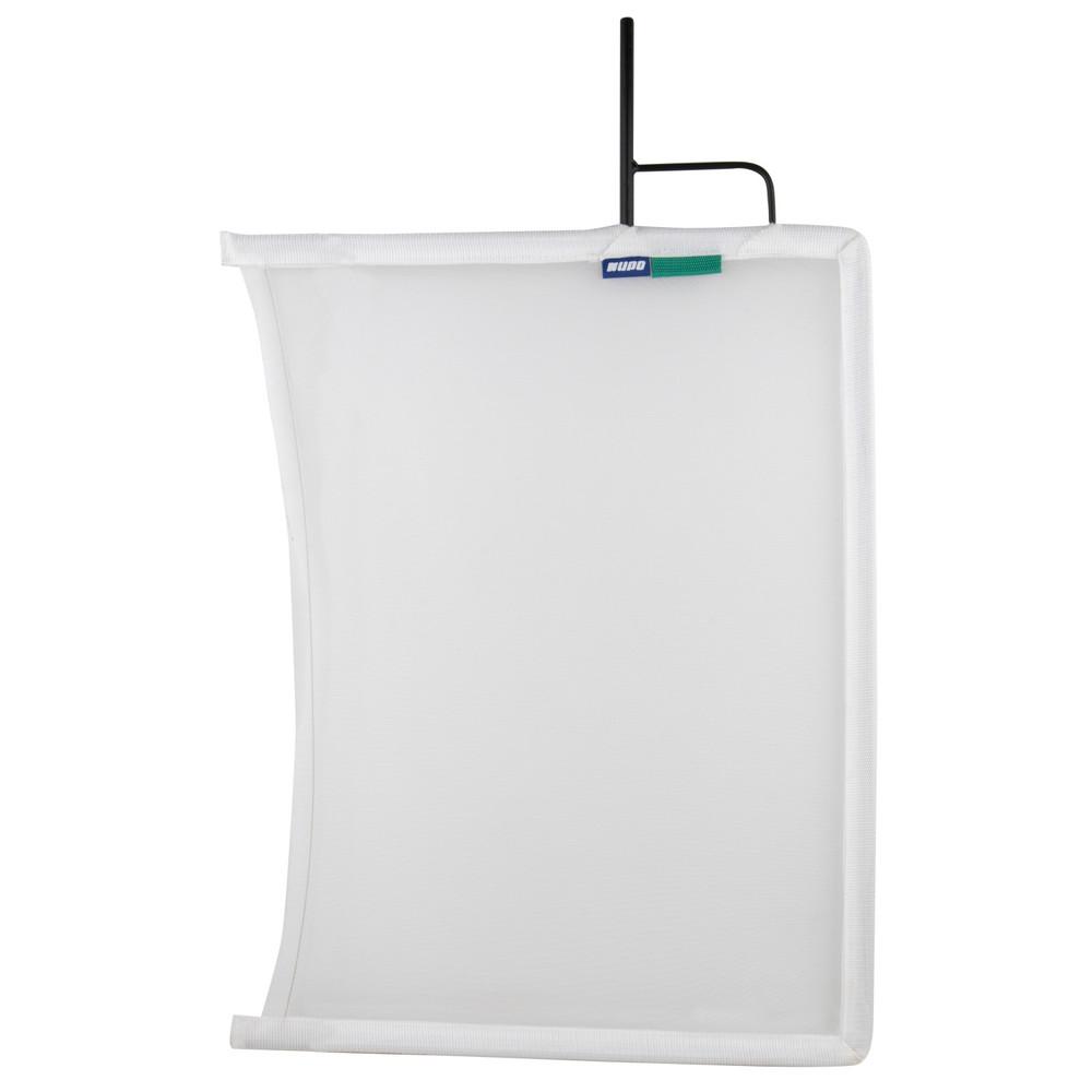 """Kupo 24""""x 36"""" Open End Flag Frame - Single White Bobbin Net"""