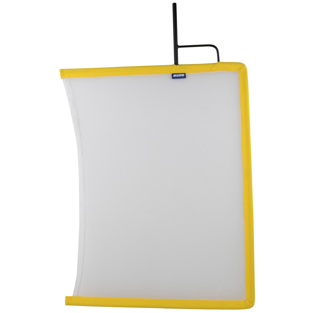 "Kupo 18""x 24"" Open End Flag Frame - White Artificial Silk"