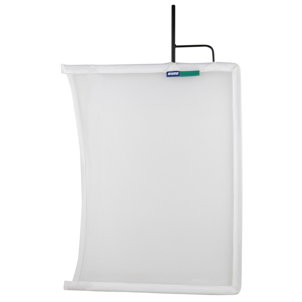 Kupo 18''x 24'' Open End Flag Frame - Single White Bobbin Net