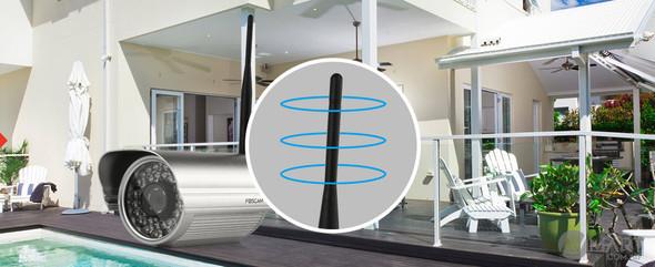 Foscam 2dBi outdoor antenna - ANT-2DBI