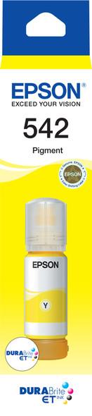 Epson T542 Yellow DURABRite Ink Bottle for EcoTank ET-5800, ET-16600
