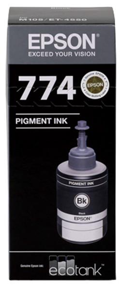 Epson T774 Black Ink Bottle for EcoTank ET-4550, ET-16500, ET-3600