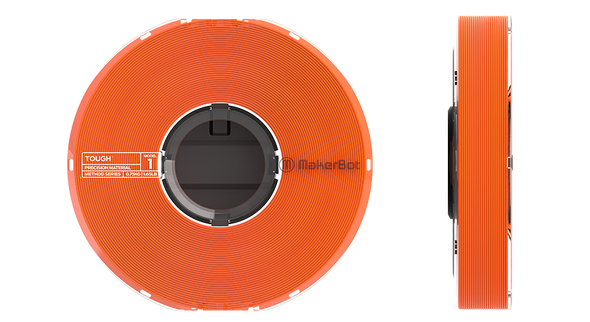 MakerBot Tough Material Filament - Safety Orange 375-0009A