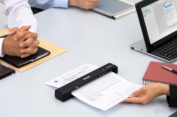 Epson WorkForce ES-60W Wireless Portable Scanner