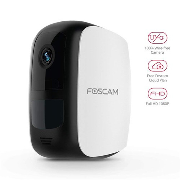 Foscam E1 - 1080P Wireless battery powered security camera system (1 camera + 1 base station)