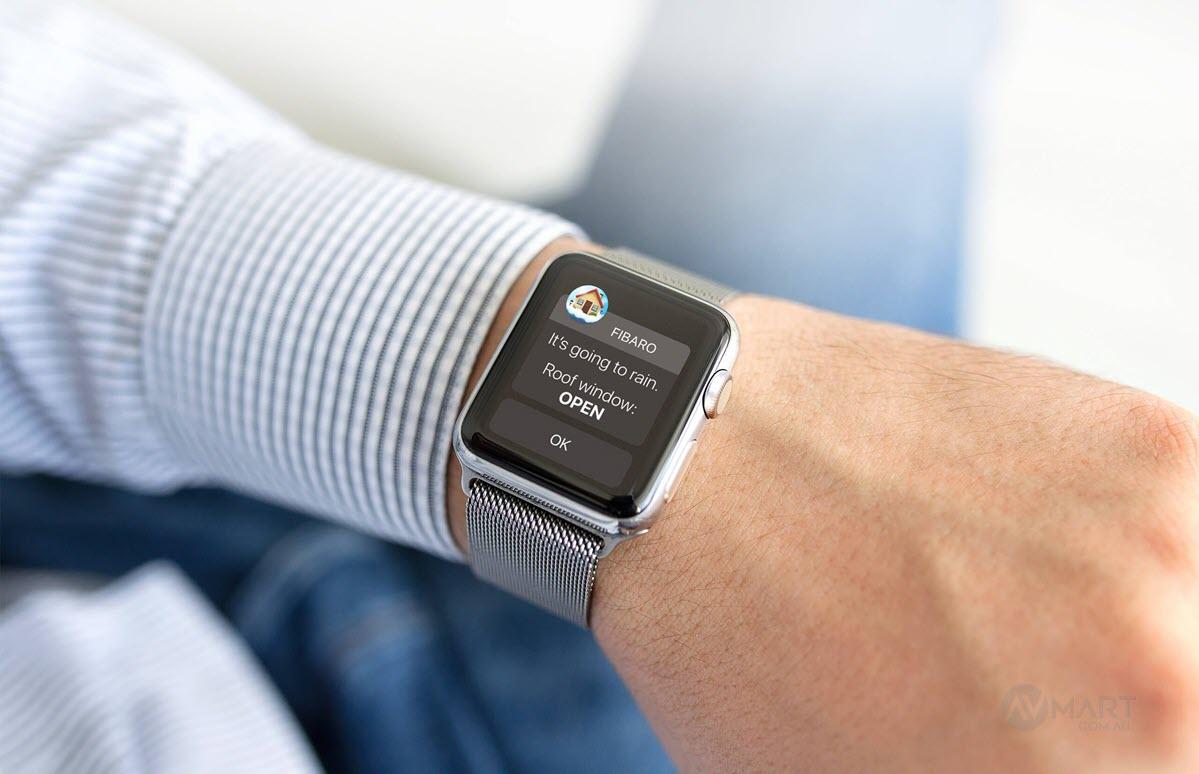Fibaro Sensor alerts to your smart watch