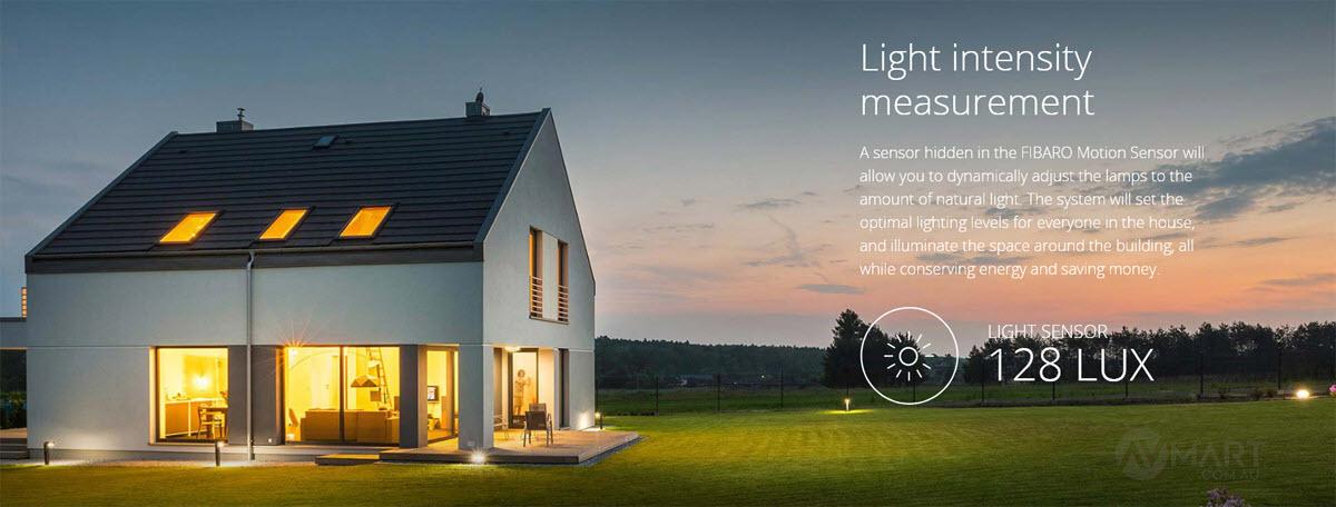 Fibaro Sensor Light intensity measurement