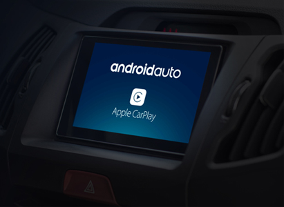 Android Auto or CarPlay.