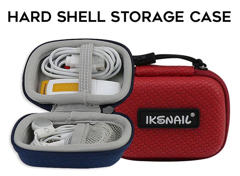 IKSNAIL Hard shell storage case