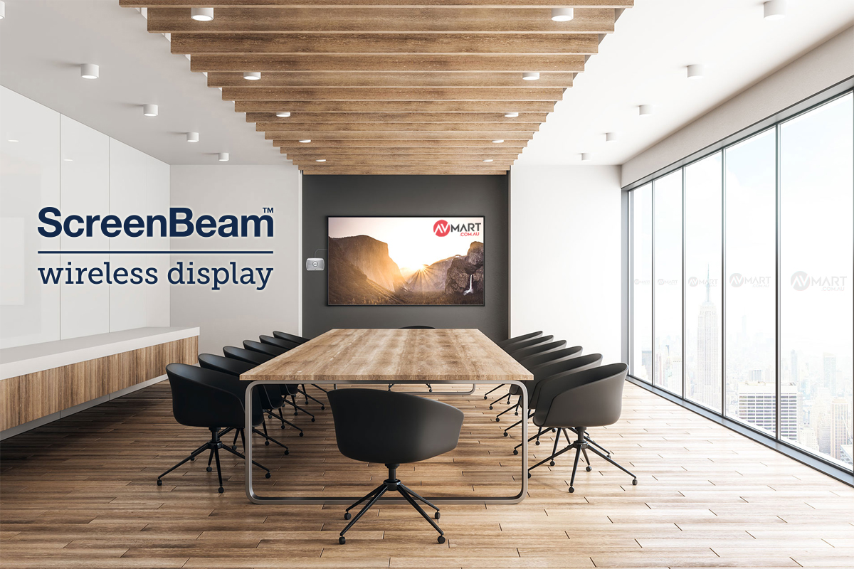 Designed for organizations requiring a high performing 4K universal wireless display and collaboration solution with multi-network support.