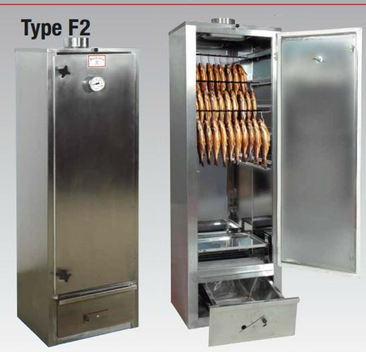 Beelonia F2 Smoking Oven - Wood Heated Smoker