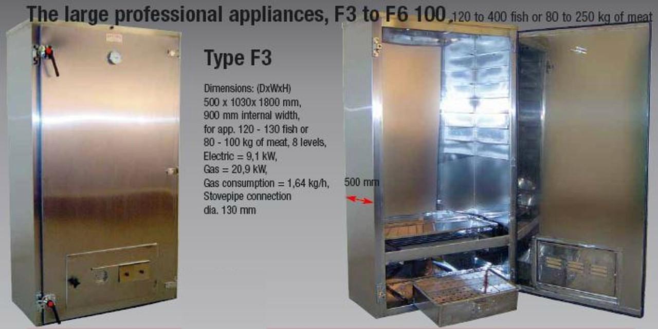 Beelonia F3 Smoking Oven - Wood Heated Smoker