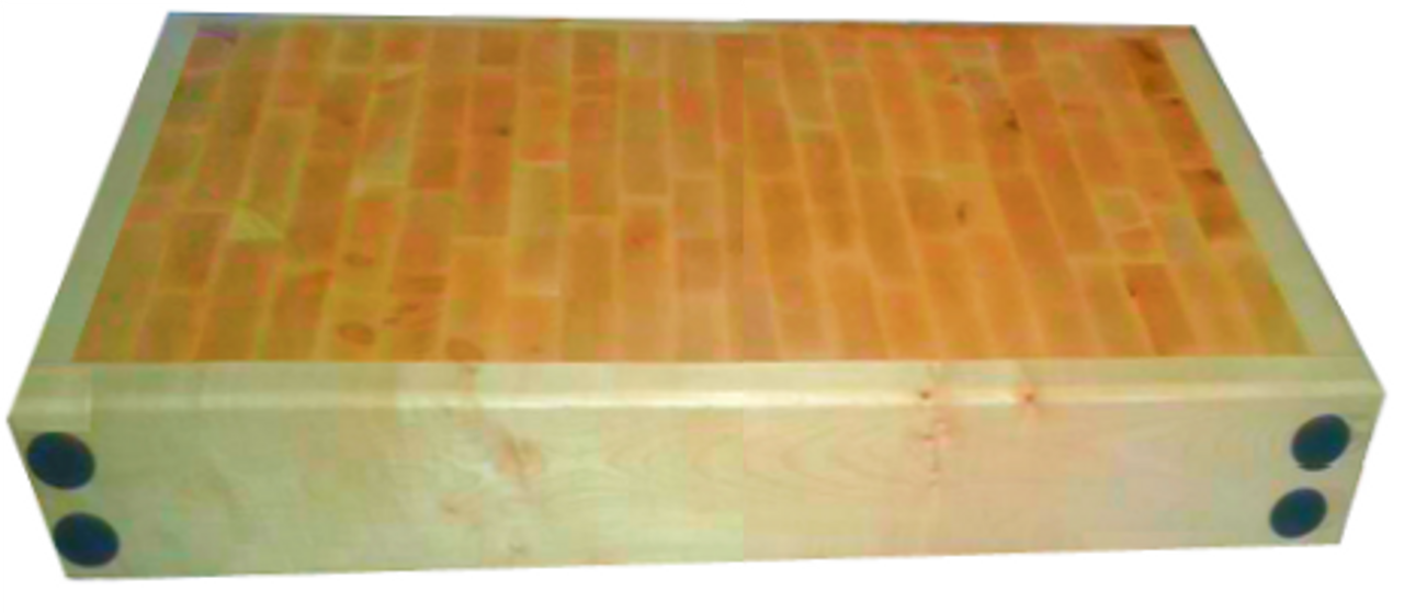 4ft x 2ft Butchers Blocks - Reversible Butchers Blocks