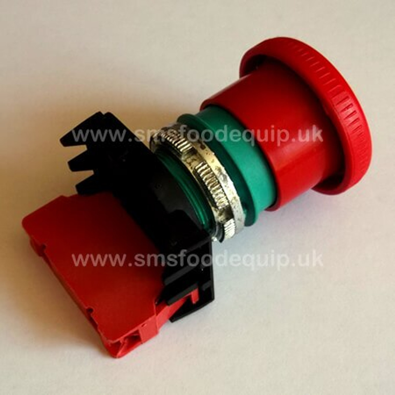 Red Emergency Stop Button | Meat Slicers