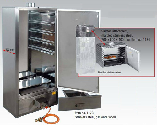 Beelonia F270 Smoking Oven - Wood Heated Smoker