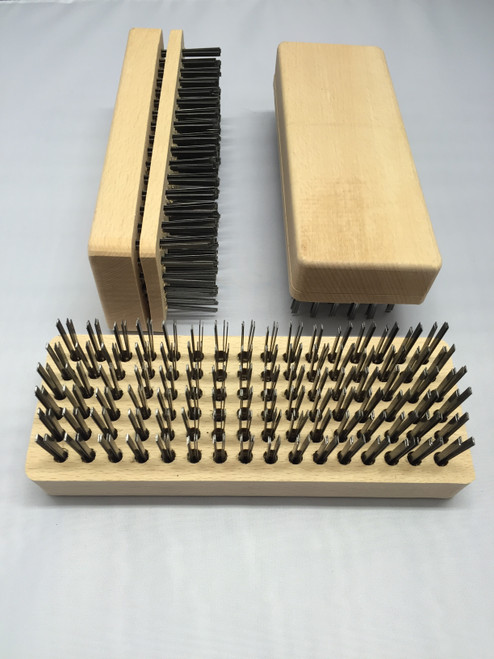 Wooden Butchers Blocks Brush