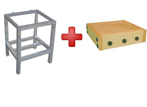 Butchers Blocks Frame - 2ft x 2ft Box Aluminium