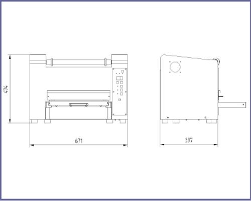 TS-300 / TS-300GF Tray Sealer