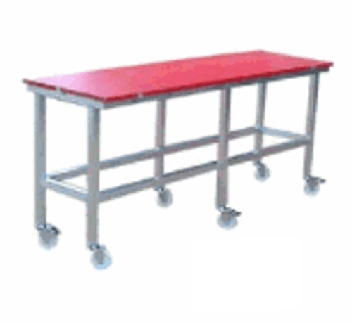 180/150cm x 60cm x 25mm Red Polytop