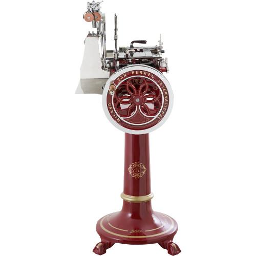 Red Pedestal for Berkel Meat Slicers L16