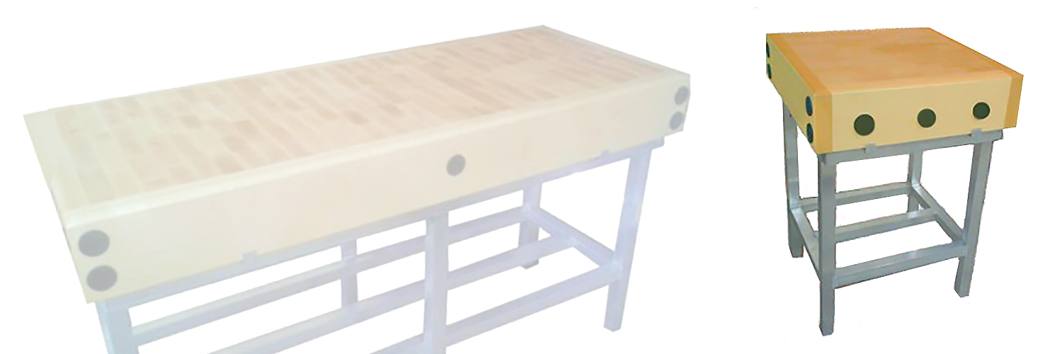 Commercial butchers blocks