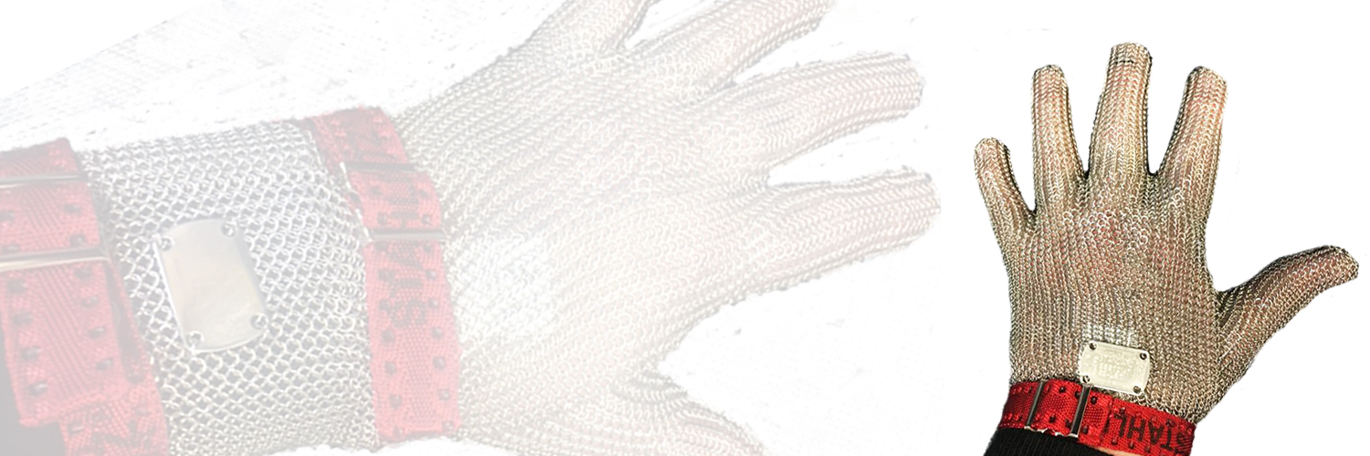 Butchers Safety Gloves, Quality German Made Stainless Steel Safety Gloves