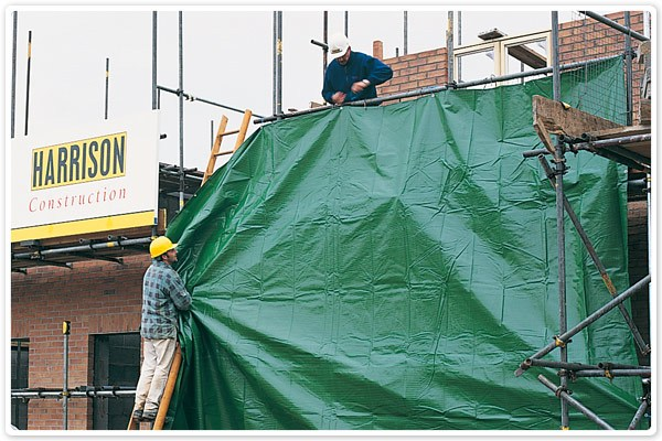 Uses for Tarps - Building 1