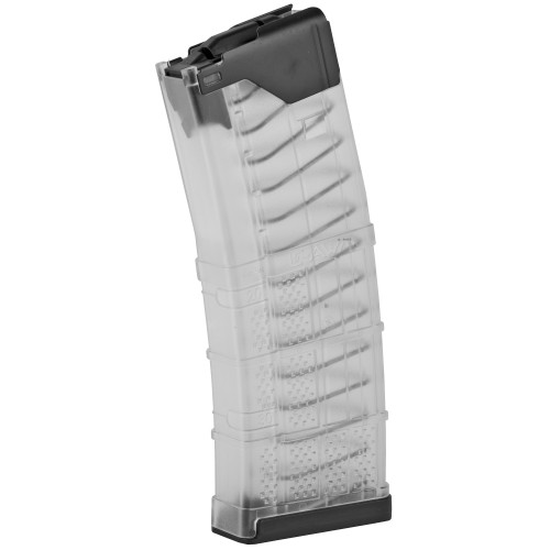 L5 Advanced Warfighter Magazine, 223 Rem/556NATO, 30Rd, Fits AR Rifles, Clear Finish