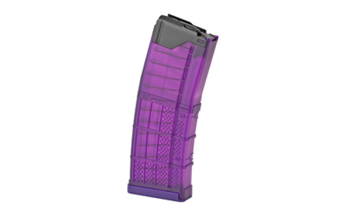 Lancer, Magazine, L5 Advanced Warfighter, 223 Remington, 556NATO, 30Rd, Translucent Purple, AR Rifles