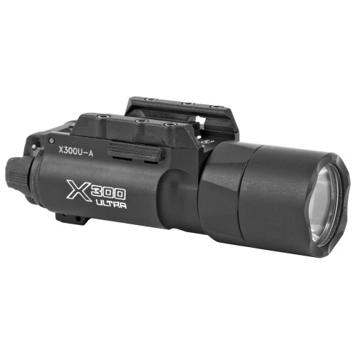 Surefire, X300 Ultra (A), Weaponlight, White LED, 1000 Lumens, Fits Picatinny and Universal, For Pistols, 2x CR123 Batteries