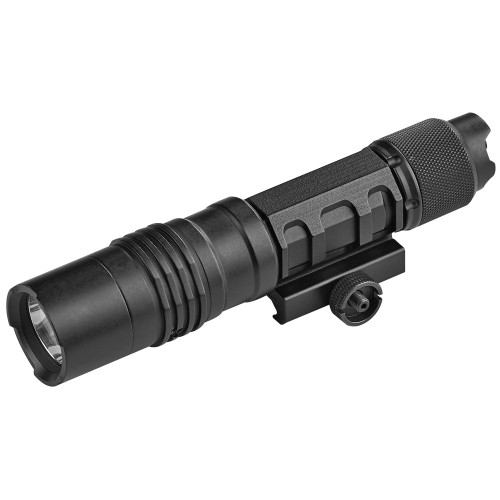 Streamlight, ProTac Rail Mount HL-X Laser, Tac Light w/laser, Black Finish, 1,000 Lumen Light with Red Laser, Fits Picatinny Rail, Includes Remote Switch, Tail Switch, Remote Retaining Clips and Mounting Hardware