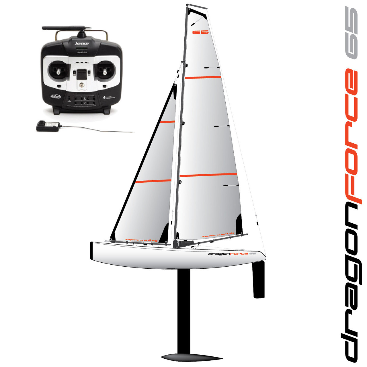 DragonForce 65 DF65 Class RC Sailboat 650mm