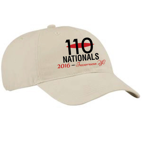 110 National Championship 2016 Cotton Sailing Cap