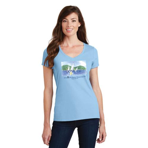 El Toro North American's 2016 Women's Cotton T-Shirt-Light Blue
