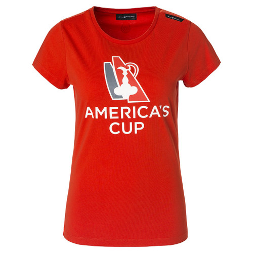Women's America's Cup 2017 Tee Red