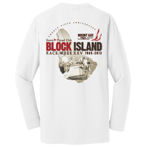 Block Island Race Week 2013 Wicking Shirt