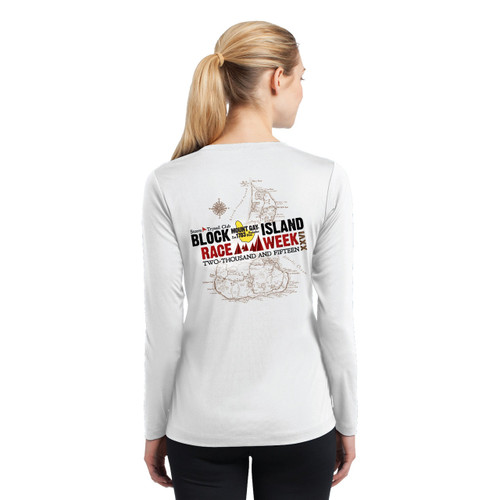 Block Island Race Week 2015 Women's Wicking Shirt