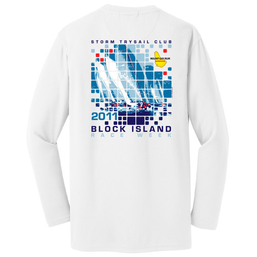 Block Island Race Week 2011 Wicking Shirt
