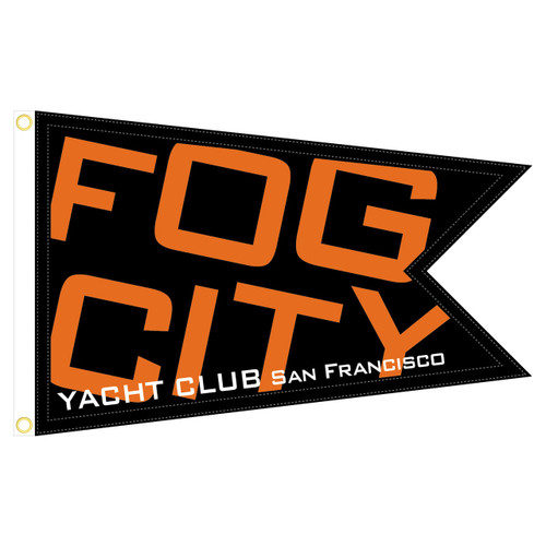 Fog City Yacht Club Burgee
