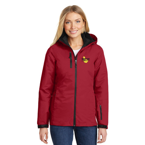 Mount Gay® Rum Women's Vortex Waterproof 3-in-1 Jacket by Port Authority®