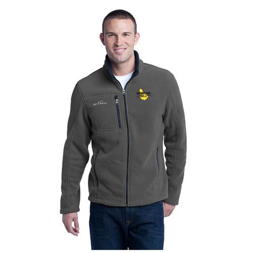 Mount Gay® Rum Full-Zip Fleece Jacket by Eddie Bauer® (Grey)