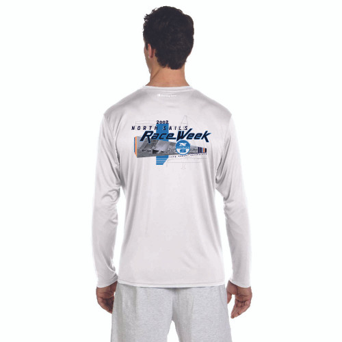 North Sails Race Week 2002 Men's UPF 50+  Wicking Shirt