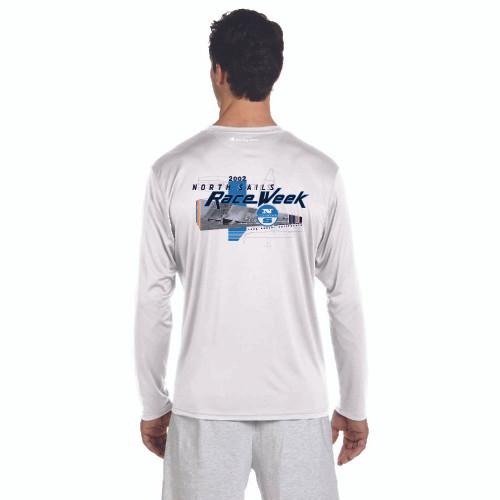North Sails Race Week 2002 Men's UPF 50+  Wicking Shirt (Customizable)
