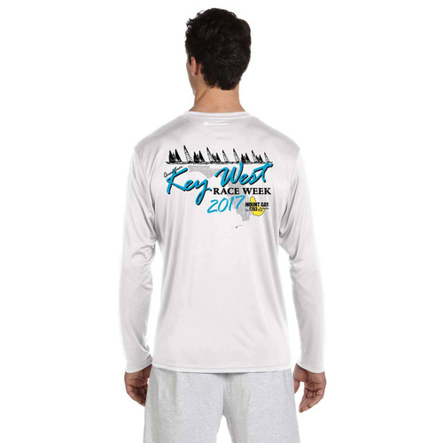 Quantum Key West Race Week 2017 Men's UPF 50+  Wicking Shirt (Customizable)